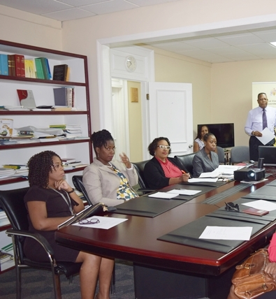 Summits of Americas Secretariat of the OAS , held a Video Conference Summit 101 at the OAS Barbados Office, Dec 14, 2016