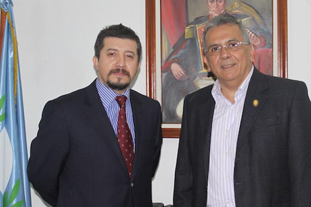 Representante de la OEA en Venezuela se entrevista con el presidente del Grupo Parlamentario Venezolano del Parlatino