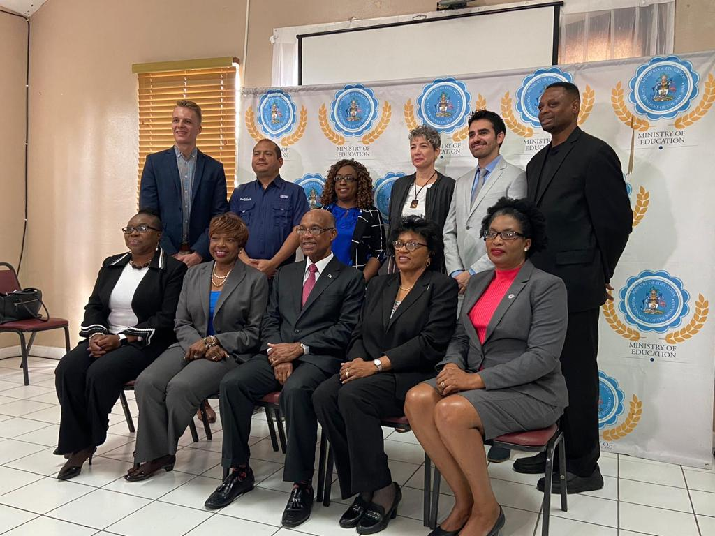 The Ministry of Education (MOE) in partnership with the Organization of American States (OAS) and ProFuturo has officially launched the ProFuturo Digital Mobile Classroom initiative in The Bahamas.