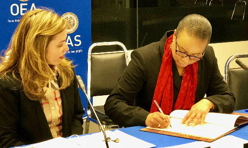 Dominica becomes a Member State of the OAS Anticorruption Mechanism (MESICIC)