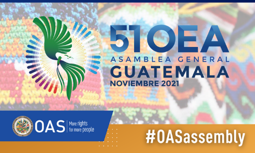 Guatemala Proposes Theme for the OAS General Assembly and that it be Held Virtually