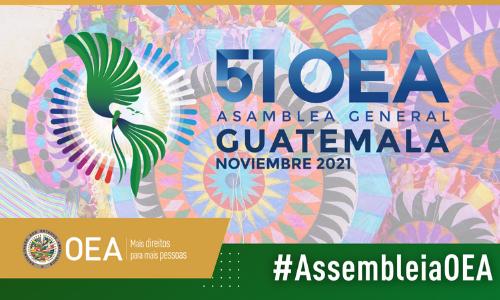 Guatemala propõe o lema da Assembléia Geral da OEA e que seja de maneira virtual