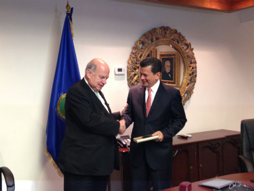 OAS Secretary General Met with the Secretary General of SICA