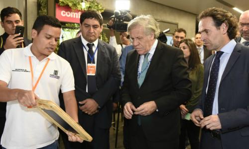 """Secretario General de la OEA inaugura Foro de Jóvenes de las Américas con un llamado a """"tener la valentía de innovar"""""""
