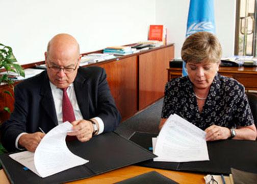 LA OEA, CEPAL y el Tecnológico de Monterrey firman acuerdo para promover Responsabilidad Social Empresarial