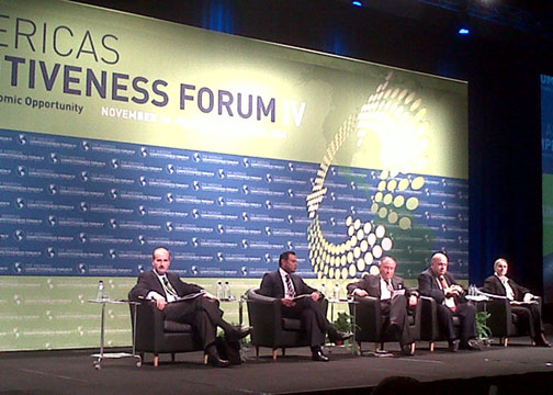 OAS Secretary General Participates in IV Americas Competitiveness Forum