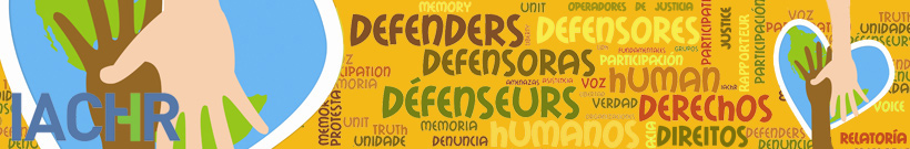 Rapporteurship on Human Rights Defenders