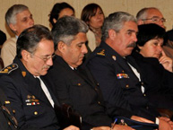 Public at the conference on the rights of persons deprived of liberty offered by the IACHR at the Ministry of Foreign Affairs of Uruguay during the visit in July 2011