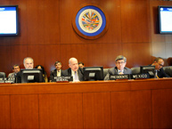 Permanent Council of the OAS held a Special Session on November 7, 2012