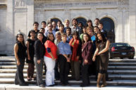 Students in the Course on the Inter-American and International Systems for the Protection of Human Rights, offered in October 2010.