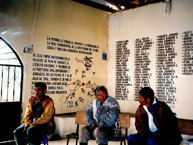 In the Plan de Sánchez massacre, perpetrated in 1982, members of the Guatemalan Army and civilian collaborators executed 268 persons, the majority Maya indigenous people.