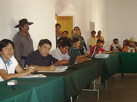 Meeting of the IACHR with representatives of civil society, including leaders in the defense of the rights of indigenous peoples. Oaxaca, August 29, 2005.