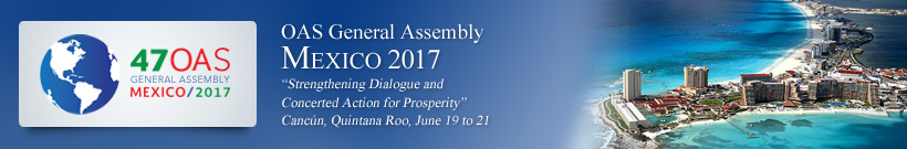 Forty-fifth Regular Session of the OAS General Assembly - 2017