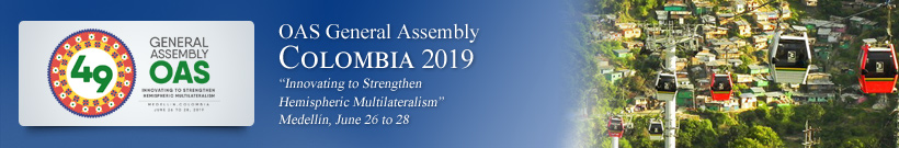 Forty-ninth Regular Session of the OAS General Assembly - 2019