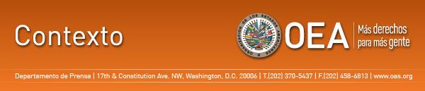 Contexto, Organización de los Estados Americanos