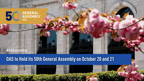 Fifty Regular Session of the General Assembly of the OAS 2020