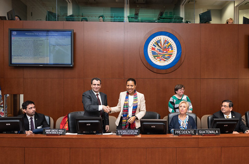 OAS and KOLAU Marketing Sign Cooperation Agreement to Promote Digitalization of Micro, Small and Medium-Sized Businesses