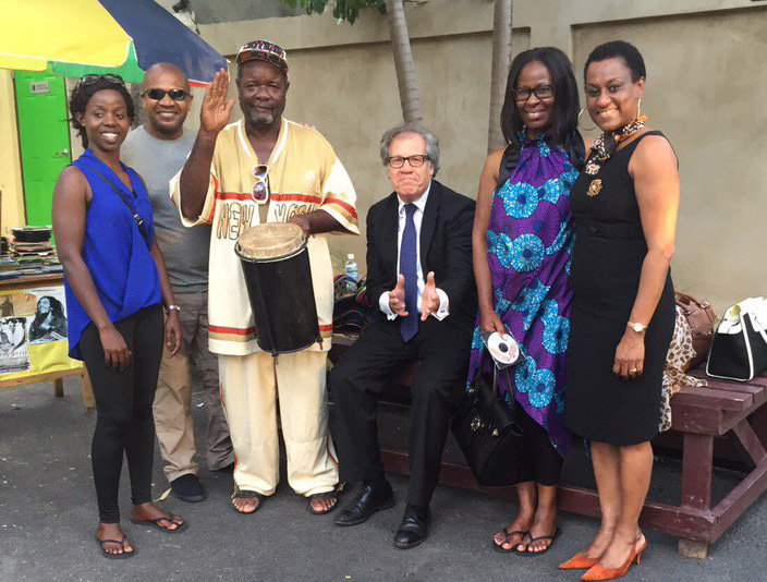 Secretary General Almagro Reaffirms in Jamaica OAS Support to the Caribbean