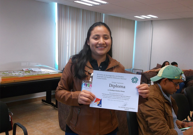 Cinthya Castro, de Nicaragua