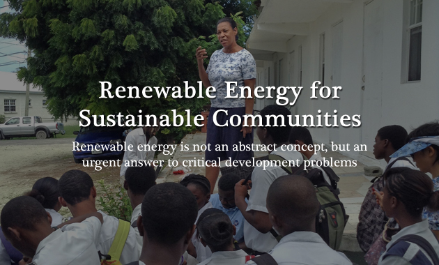 Renewable Energy for Sustainable Communities