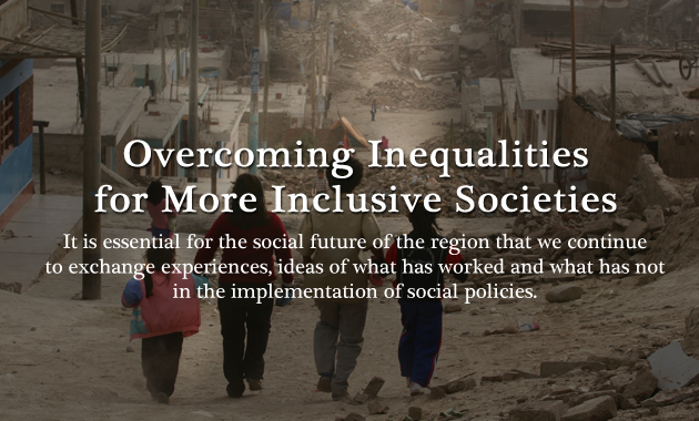 Overcoming Inequalities for More Inclusive Societies