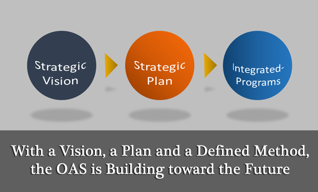 With a Vision, a Plan and a Defined Method, the OAS is Building toward the Future