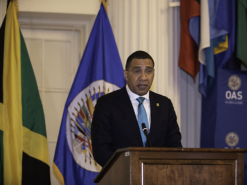 Prime Minister of Jamaica Highlights OAS Role in the Region