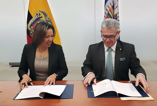 OAS and Ecuador Join Efforts to Promote the Protection, Conservation and Dissemination of Cultural Heritage through New Technologies