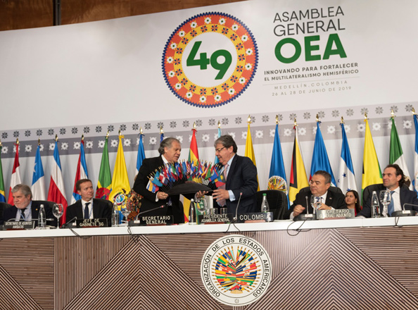 Closing 49 OAS General Assembly
