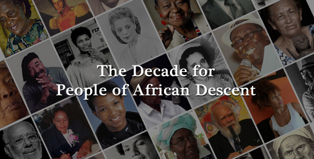 the Decade for People of African Descent