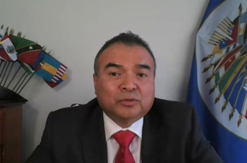 OAS Assistant Secretary GeneralNestor Mendez Assumes Second Term
