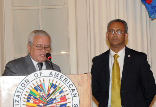 OAS Assistant Secretary General Assumes Office for Second Term