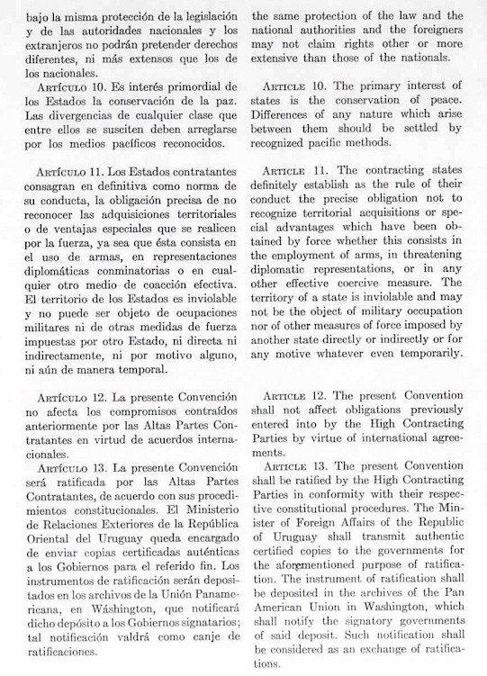 Convención de Montevideo A-4004