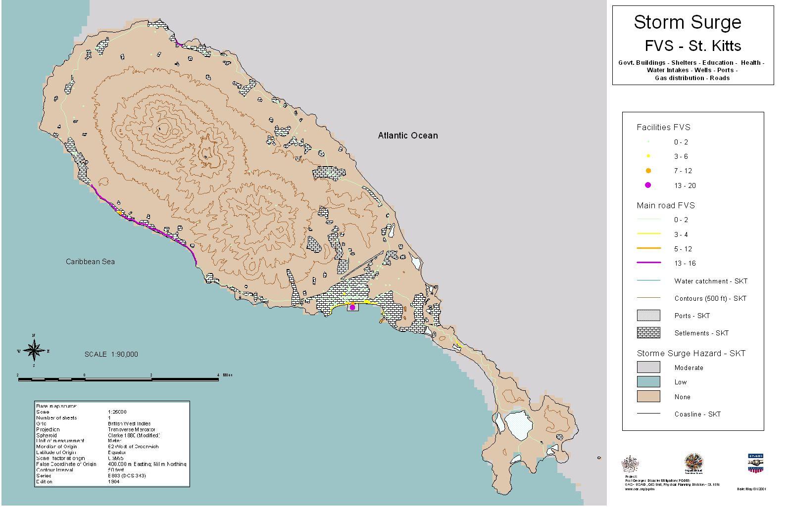 PGDM: St. Kitts/Nevis National Hazard Mitigation Policy/Plan, List ...