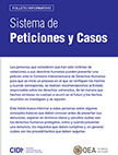How to present a petition, brochure in Spanish
