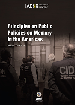 Principles on Public Policies on Memory in the Americas