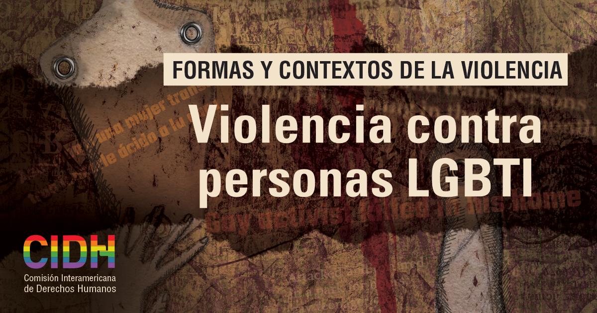 Formas Y Contextos De La Violencia Contra Personas Lgbti