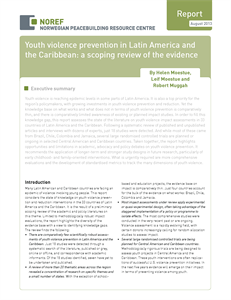 Youth violence prevention in Latin America and the Caribbean: a scoping review of the evidence