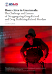Homicides in Guatemala: The Challenge and Lessons of Disaggregating Gang-Related and Drug Trafficking-Related Murders