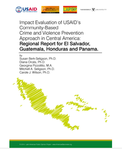 Impact Evaluation of USAID's Community-Based Crime and Violence Prevention Approach in Central America
