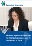 Violence against Women and its Financial Consequences for Businesses in Peru