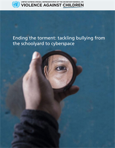 Ending the torment: tackling bullying from schoolyard to cyberspace