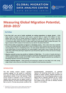 Global Migration Data Analysis Centre: Data Briefing Series | Issue No. 9, July 2017