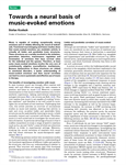 Towards a neural basis of music-evoked emotions