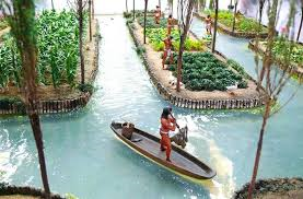 The chinampa mexica, antecedent of hydroponics