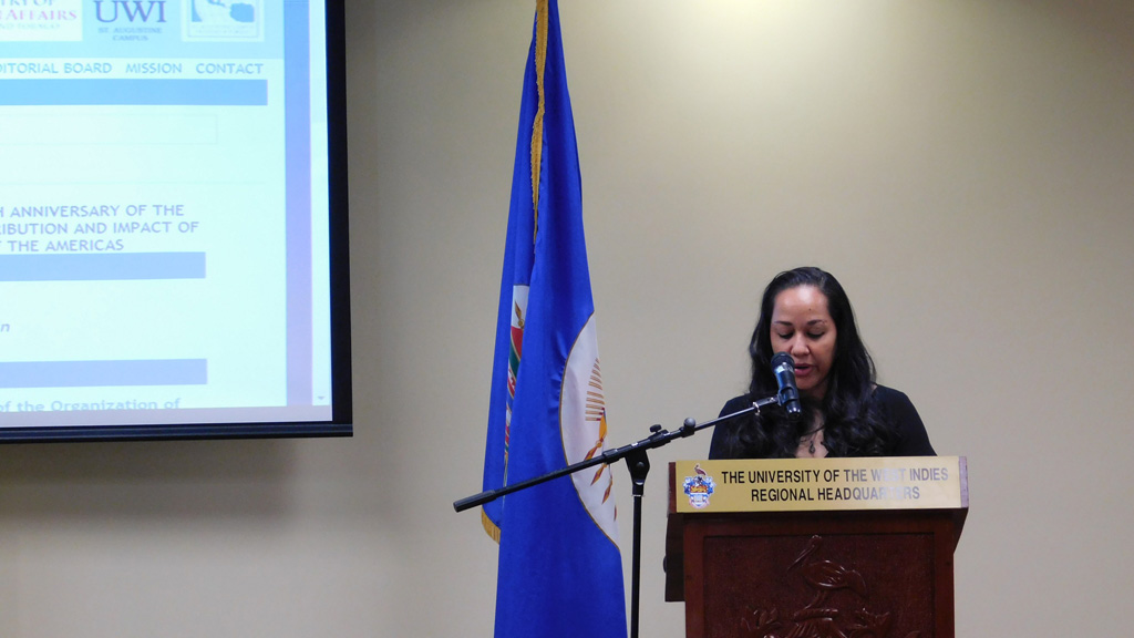 "Symposium: "" The contribution of the OAS to the hemisphere and the OAS' impact on the Peoples of the Americas"".