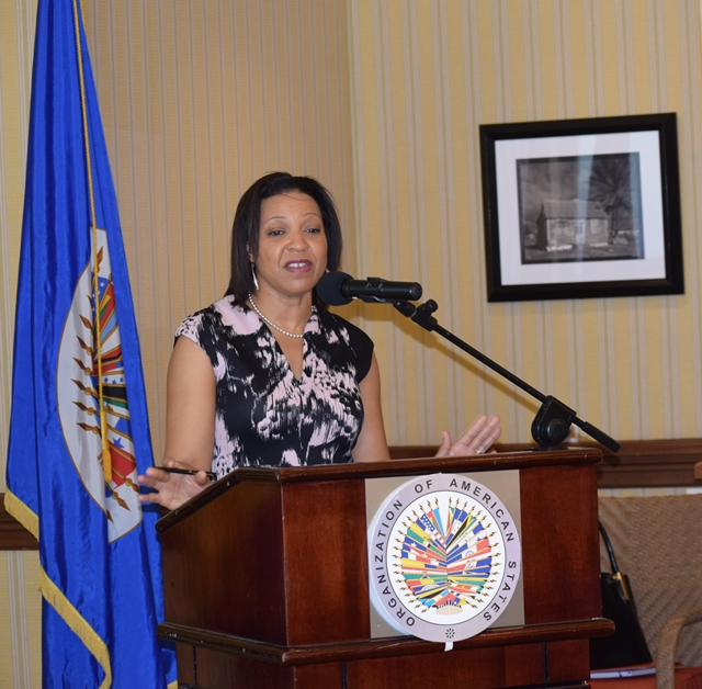 Remarks by Mrs. Kim Osborne, Executive Secretary, OAS Secretariat of Integral Development, Hon. Esther Byer, Minister of Labour and Mr. Jose Manuel Salazar-Xirinachs, ILO Regional Director for Latin America and the Caribbean at the OAS Regional Forum, Towards Concrete Solutions for Addressing Youth Employment in the Caribbean. Hilton Barbados Dec 6, 2017