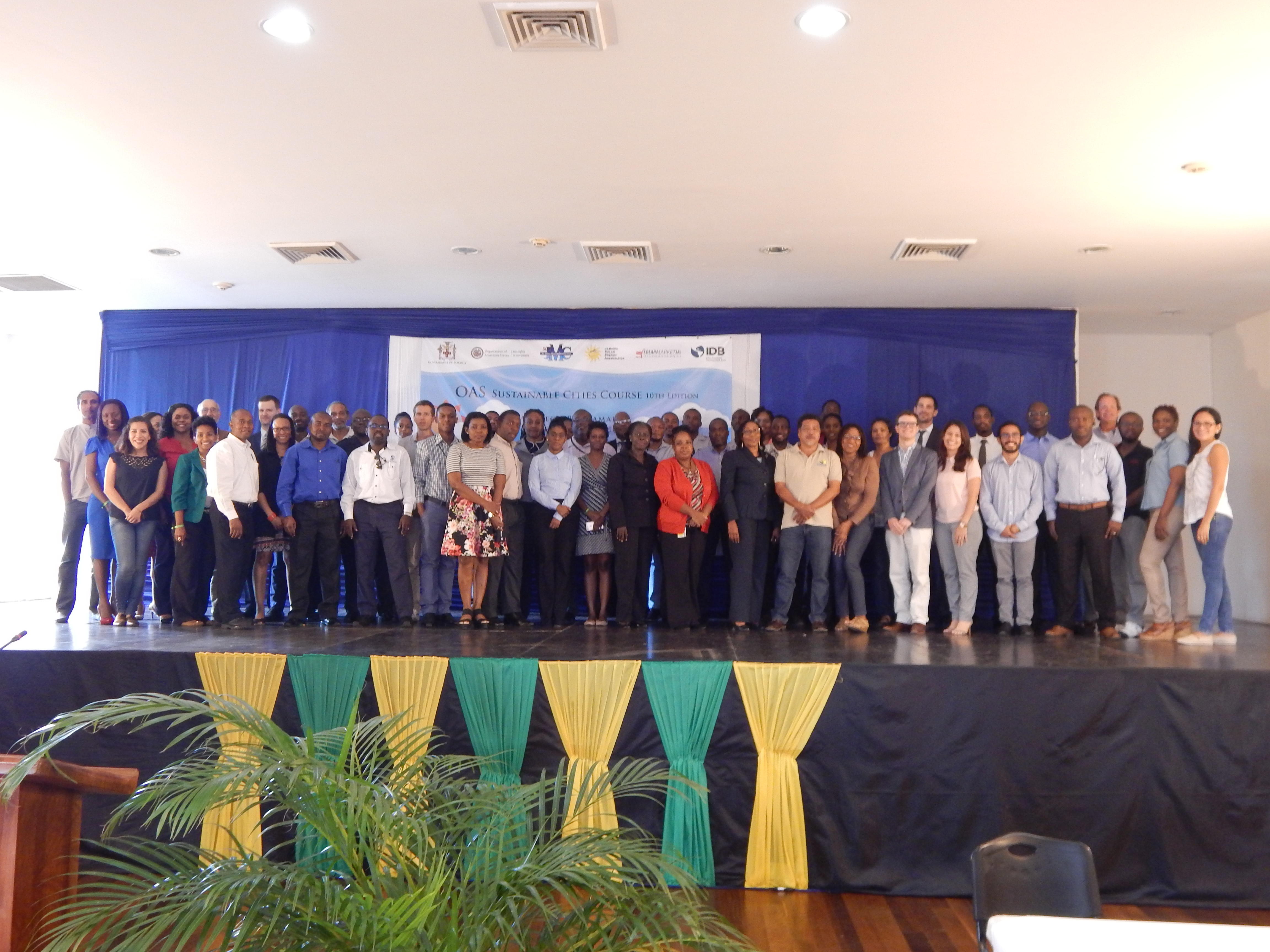 Sustainable Cities Course 10th Edition  , held in Montego Bay Jamaica