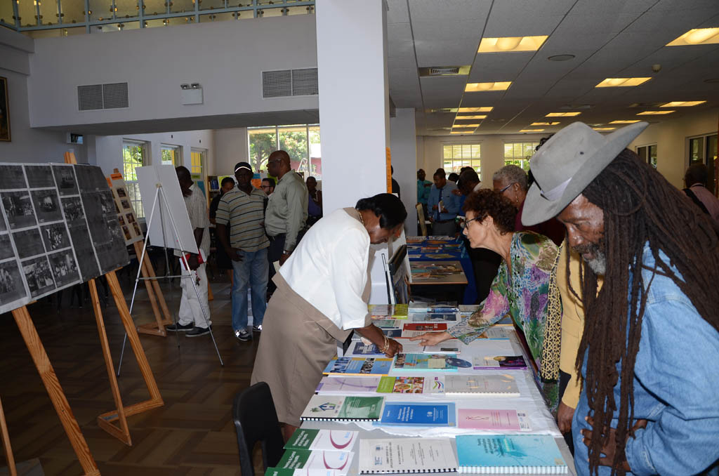 Visitors to the Inter-American Exhibit 2014