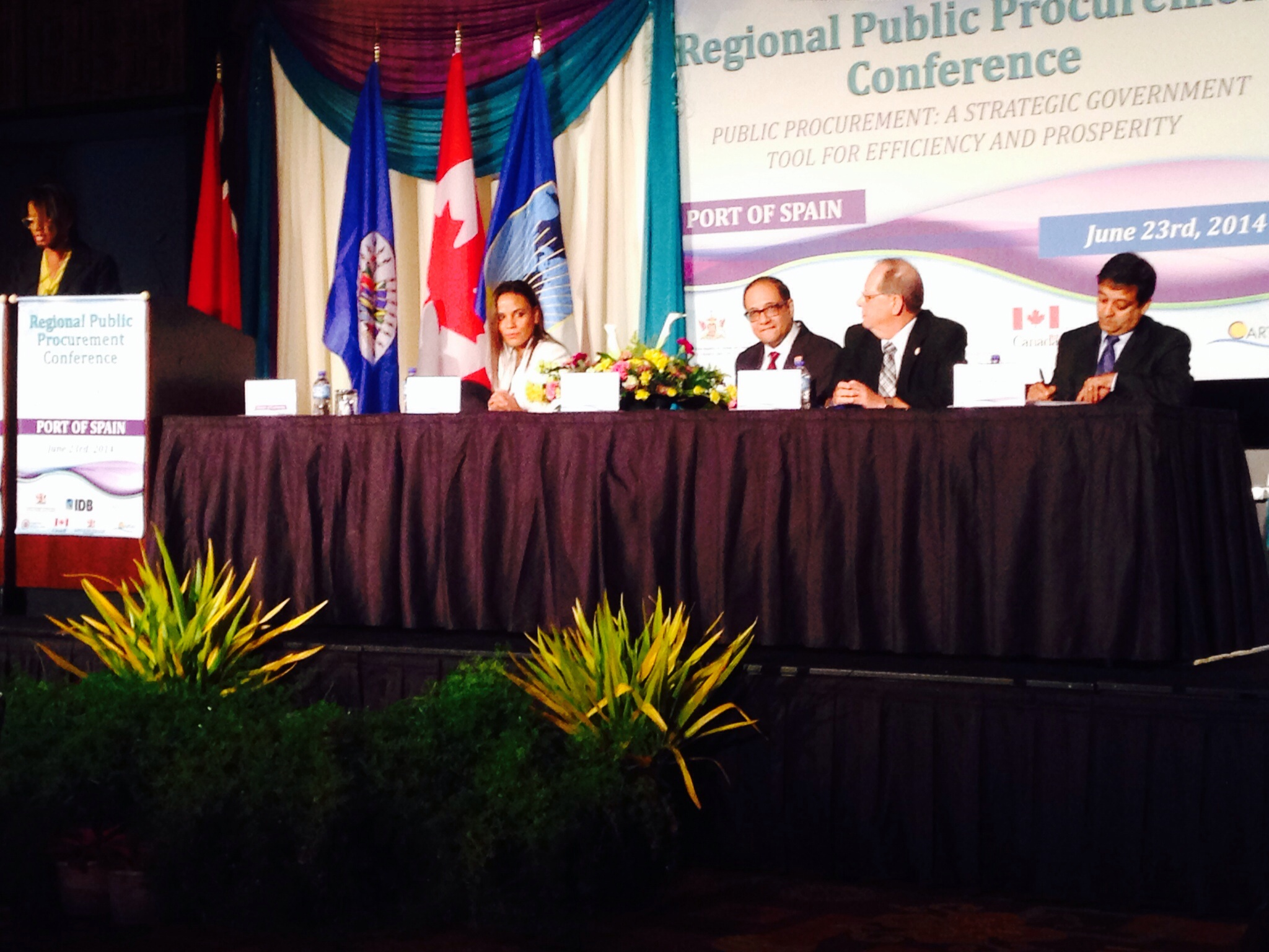 OAS supports Second Sub-regional Caribbean Public Procurement Conference of the Inter-American Network on Government Procurement (INGP), Hyatt Regency Hotel, Port of Spain, June 23, 2014